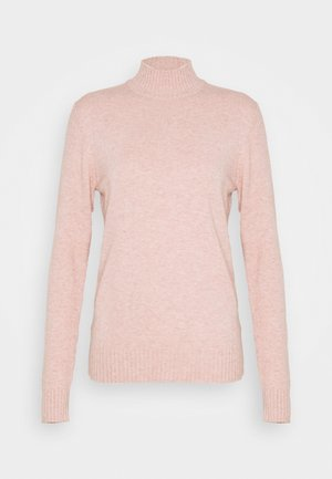 VIRIL  - Jumper - misty rose melange
