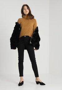 Morgan - PETRA.N - Slim fit jeans - black - 1