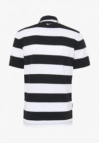 Nike Sportswear - M NSW  POLO SS KNT - Polo shirt - black/white - 1