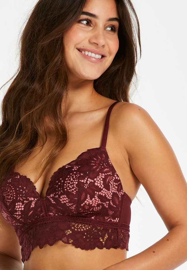 NON-WIRED - Soutien-gorge triangle - red