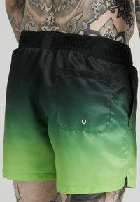SIKSILK - Swimming shorts - black  fluro - 4