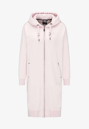 Sweatjacke - powder pink melange