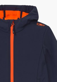CMP - GIRL FIX HOOD - Softshellová bunda - blue/orange - 2