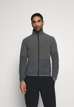 MENS YARAS JACKET - Fleecová bunda - black