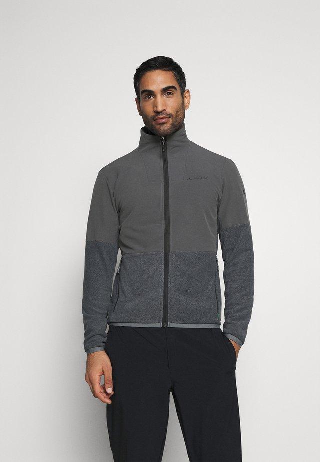 MENS YARAS JACKET - Fleece jacket - black