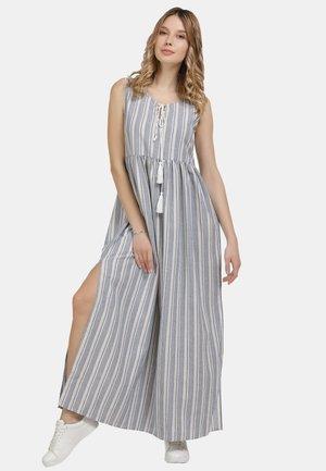Maxi dress - blau weiss