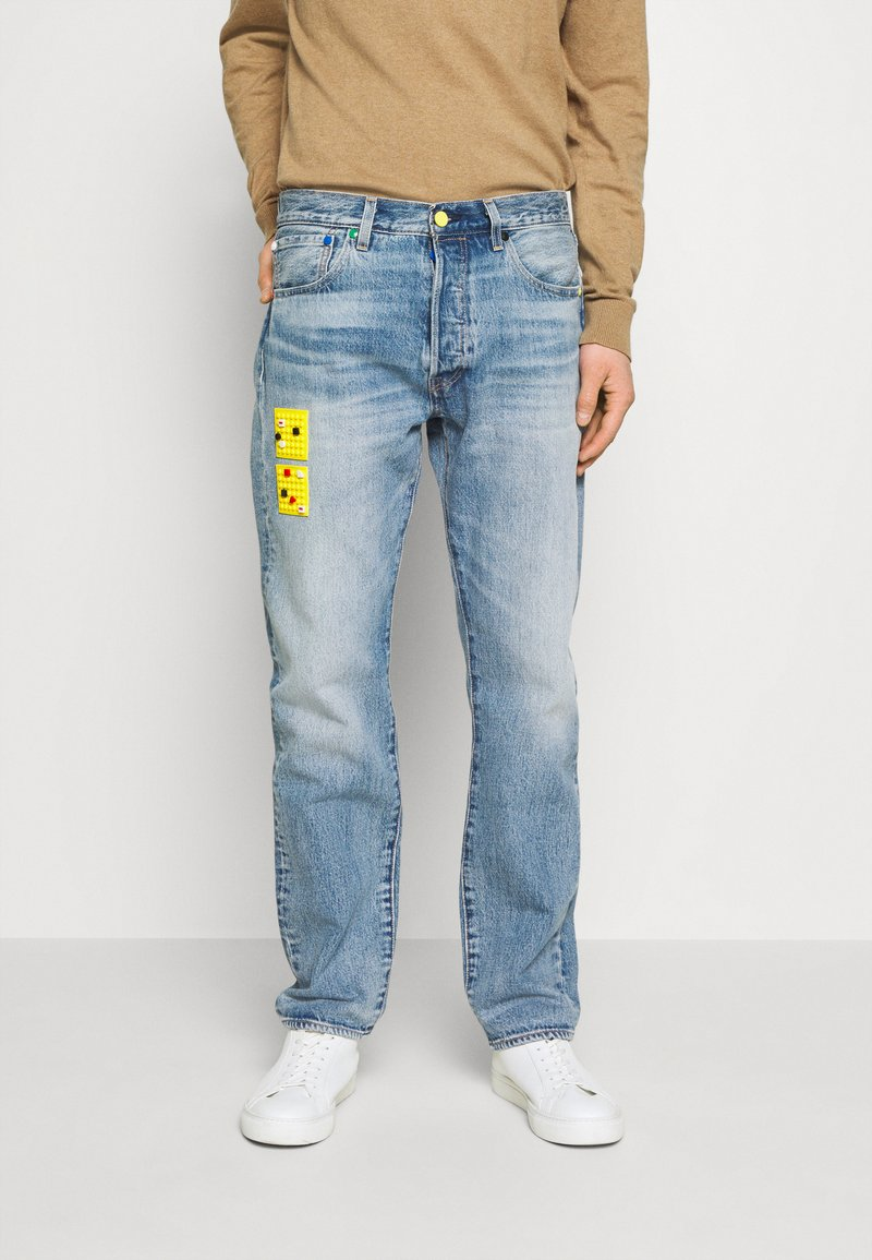 Levi's® - LEVI'S® X LEGO 501® '93 STRAIGHT - Jeans Straight Leg - studs on top