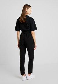 ONLY - ONLYARROW BELT PANT - Stoffhose - black - 3