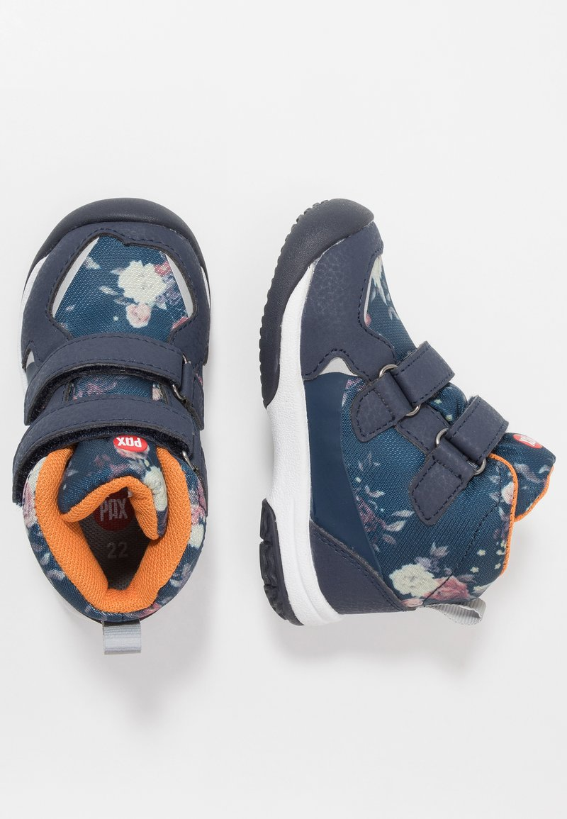 Pax - UNISEX - Hiking shoes - navy/multicolor