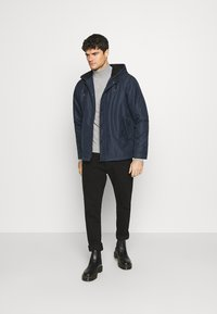 Redefined Rebel - RRGALAXY HOOD - Light jacket - navy - 1