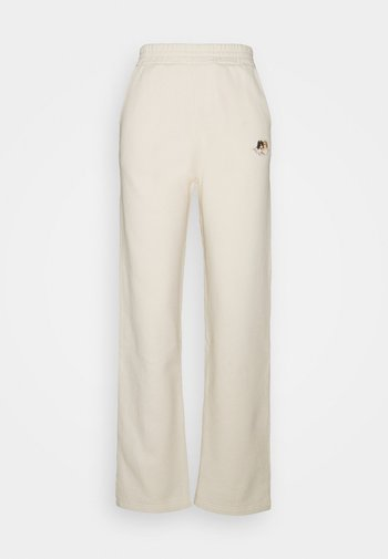 ICON ANGELS - Tracksuit bottoms - cream