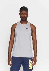 Nike Performance - TANK DRY - Top - particle grey/grey fog - 0