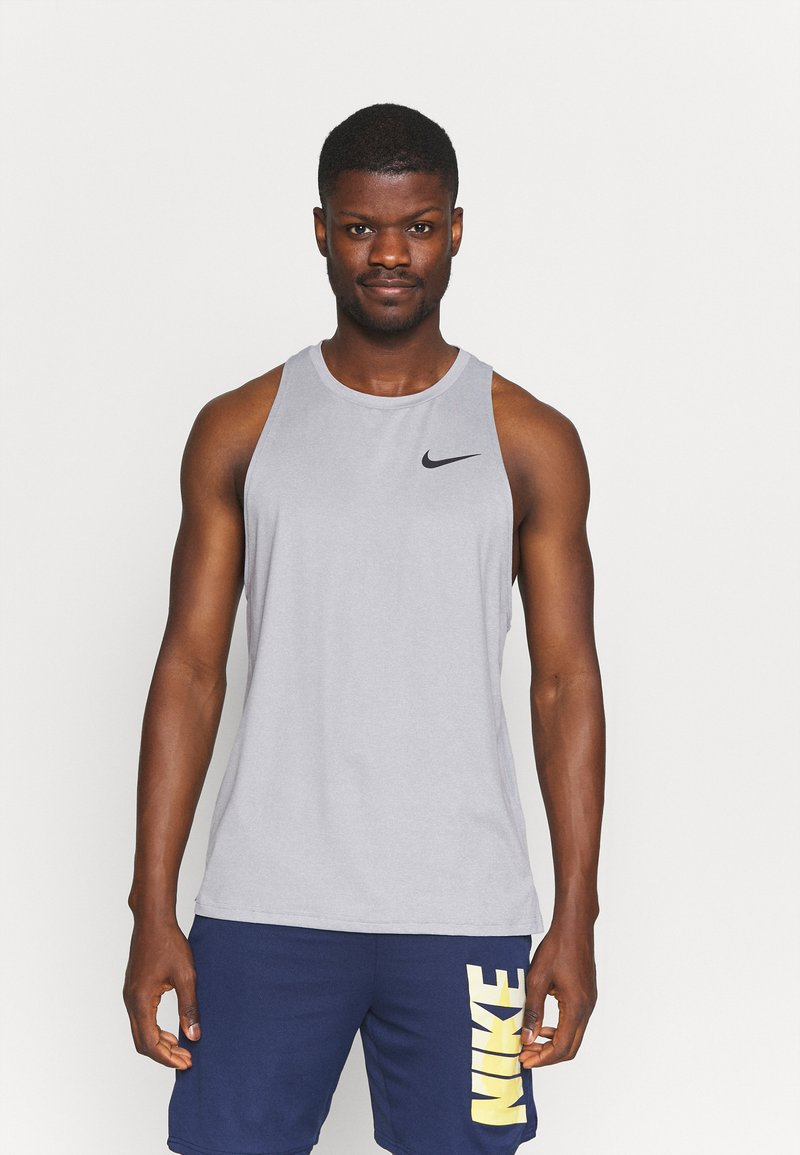 Nike Performance - TANK DRY - Top - particle grey/grey fog