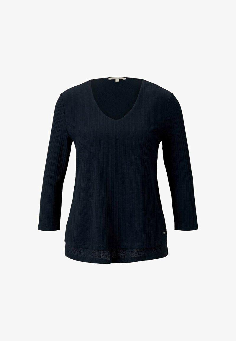 TOM TAILOR DENIM - Camiseta de manga larga - sky captain blue
