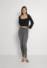 Lee - SCARLETT HIGH - Jeans Skinny - grey holly - 1