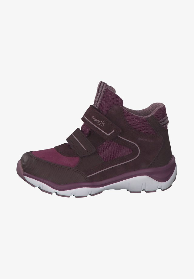 High-top trainers - rot lila