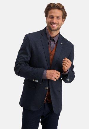 Blazer jacket - dark-blue plain