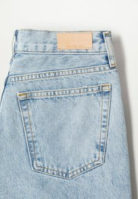 Mango - Relaxed fit jeans - light blue - 7