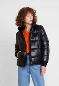 Guess - FELICIA REVERSIBLE JACKET - Winter jacket - jet black - 0