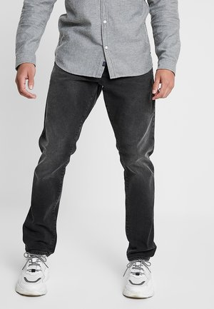 3301 STRAIGHT TAPERED FIT - Straight leg jeans - faded charcoal