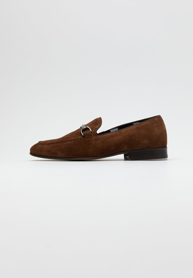 NATHAN - Slippers - brown
