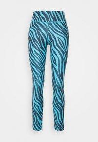 ONE 7/8 - Leggings - chlorine blue/white