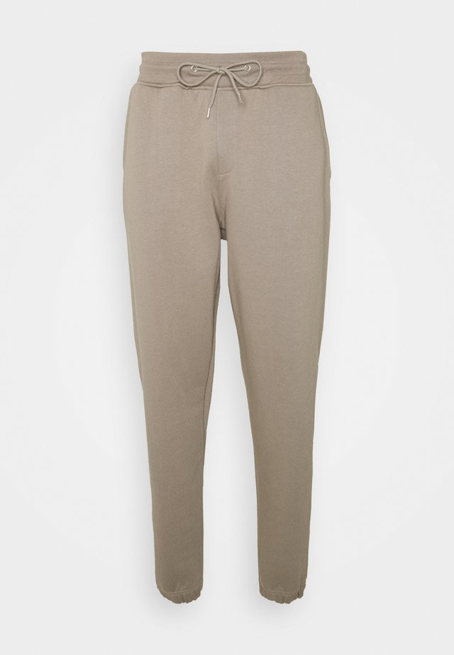 PANT - Tracksuit bottoms - taupe