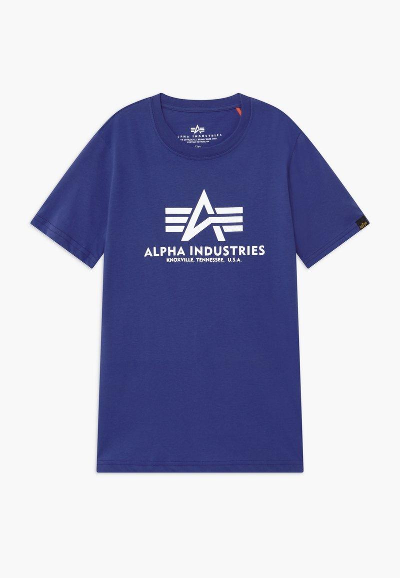 Alpha Industries - BASIC - Print T-shirt - nautical blue