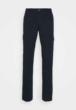 MOTO - Cargo trousers - blu marine