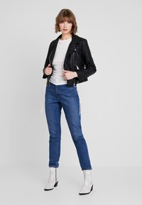 ONLY - ONYFILIPPA - Faux leather jacket - black - 1