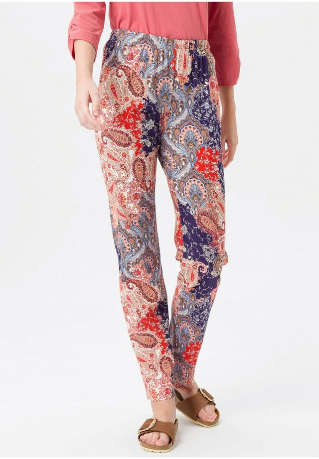 DEHNBUND - Trousers - rot/multicolor
