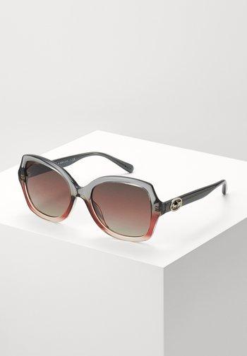 Sunglasses - gray/burgundy
