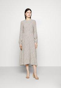 YAS - YASLICURA MIDI DRESS - Day dress - shadow - 0