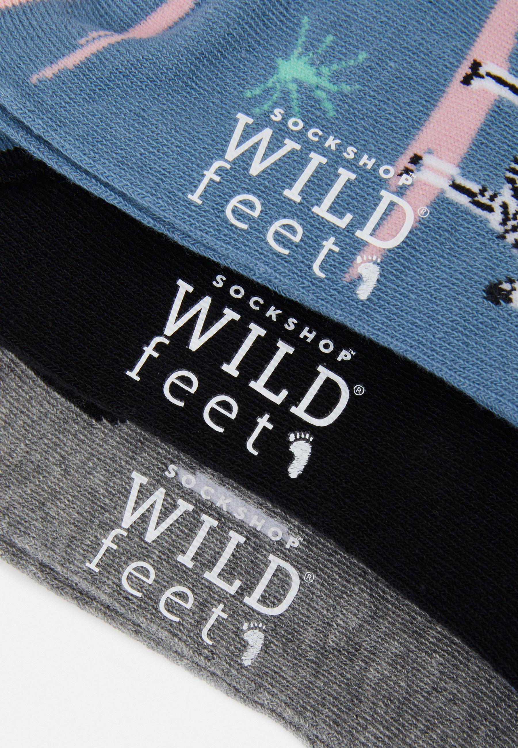 Women WILDFEET ZEBRA SOCKS 3 PACK - Socks