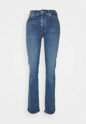 THE ILLUSION PLAYER - Straight leg jeans - mid blue