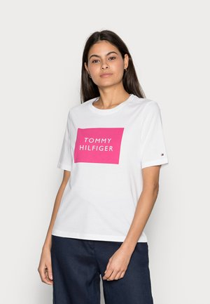 REGULARBOX - T-shirt con stampa - white