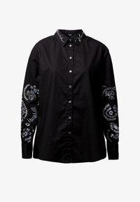 Desigual - CHIARA - Button-down blouse - black - 4