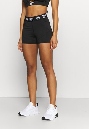 INCH SHORTS - Punčochy - black