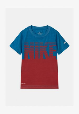 BLOCK STACKED - T-shirt med print - game royal