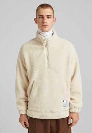 Fleece jacket - sand