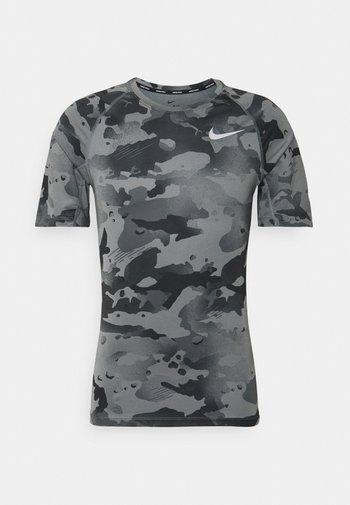 SLIM CAMO - Print T-shirt - smoke grey/grey fog