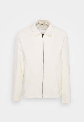 HARRINGTON JACKET - Summer jacket - natural sand white