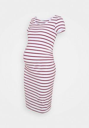 Vestido ligero - white/red