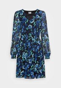 MALLORY V NECK DRESS - Day dress - mazarine blue