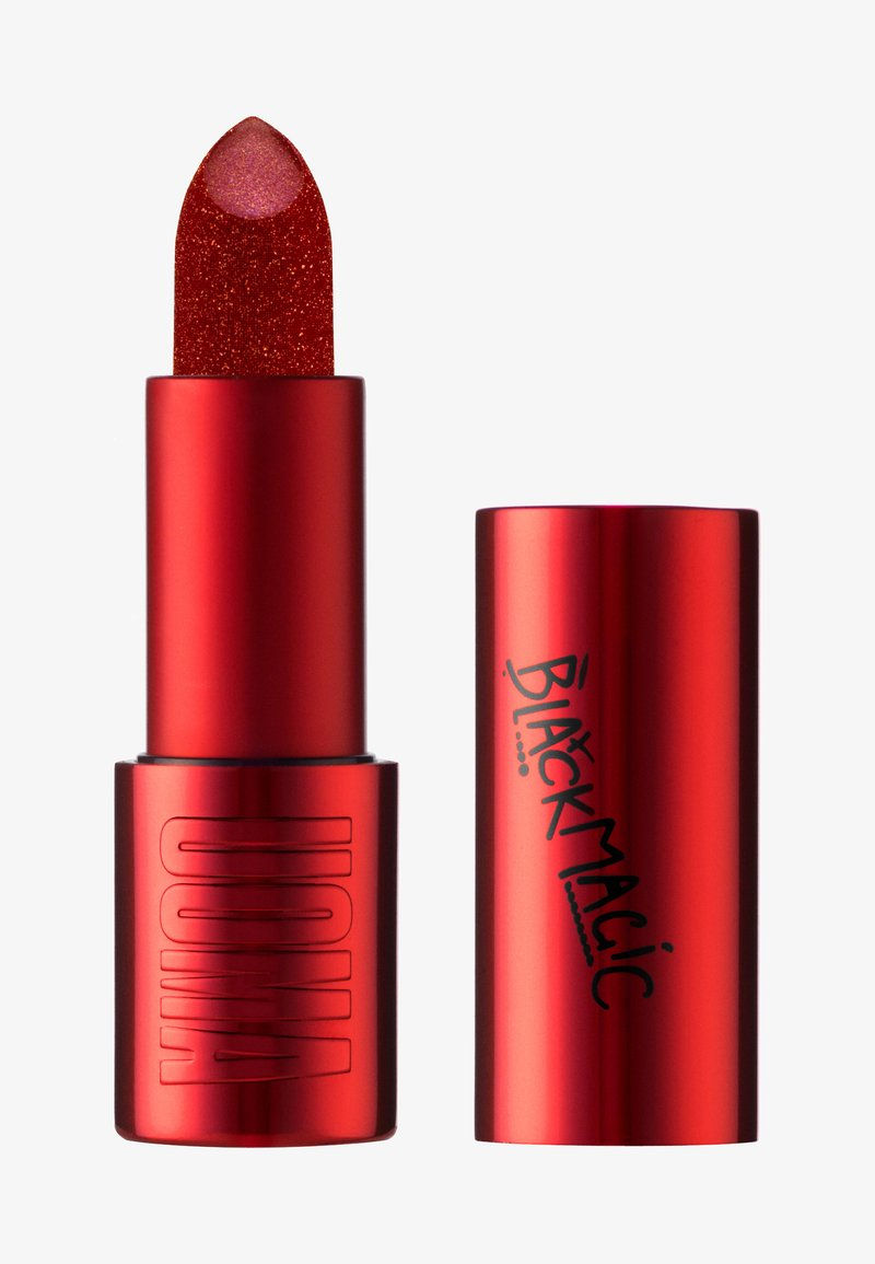 UOMA - BLACK MAGIC METALLIC LIPSTICK - Lipstick - on-fire