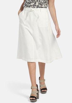 A-line skirt - weiãŸ