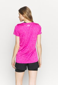 Under Armour - TECH TWIST - Camiseta básica - meteor pink - 2