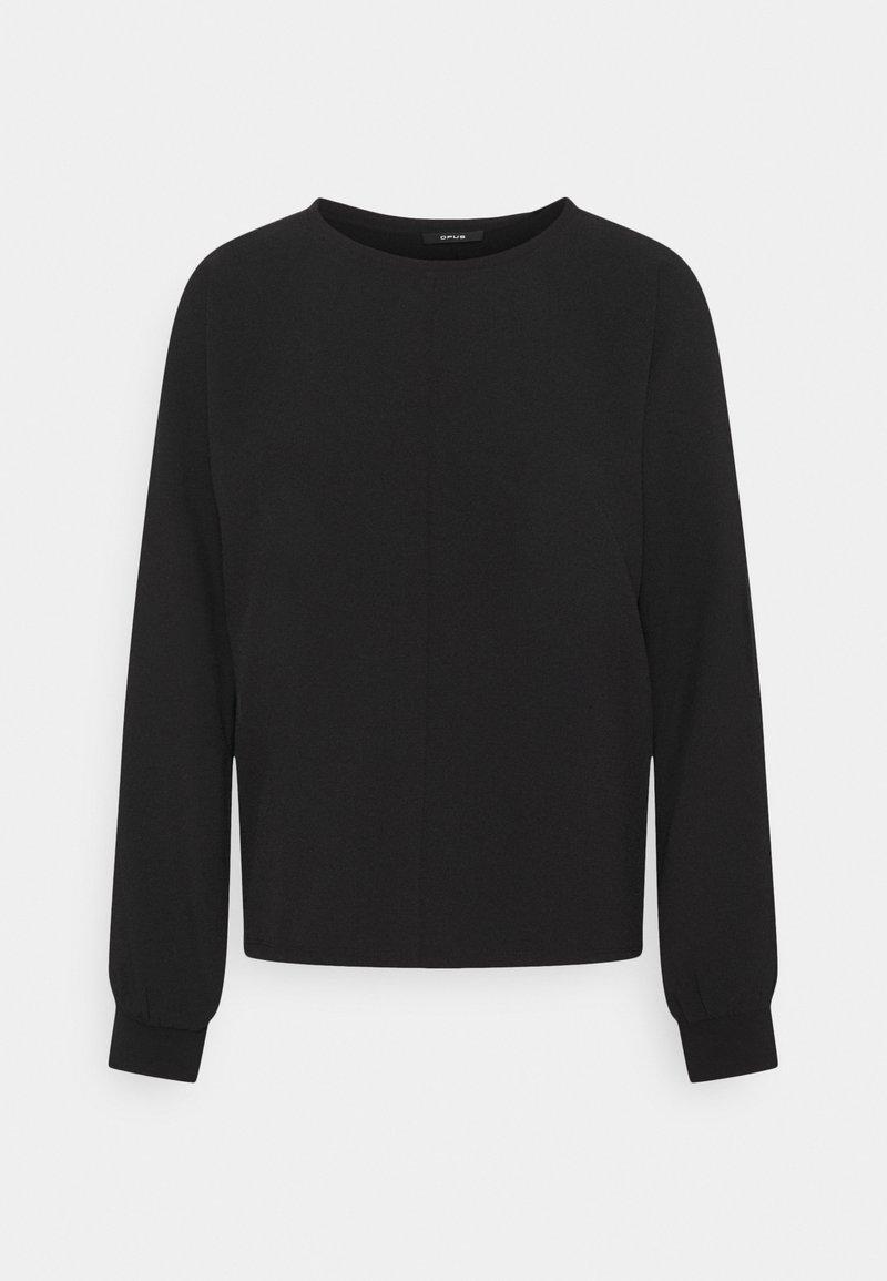 Opus - SUREEN - Long sleeved top - black