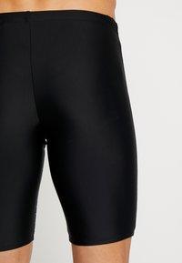 Speedo - GALA LOGO JAMMER - Swimming trunks - black/aquasplash - 1