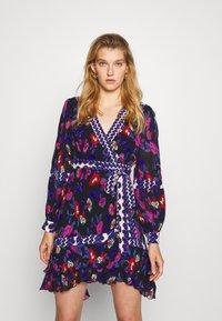 Diane von Furstenberg - SOL DRESS - Day dress - medium black - 0